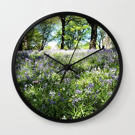 Bluebell Wall Clock