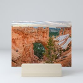 Natural Bridge Panorama at Bryce Canyon National Park Mini Art Print