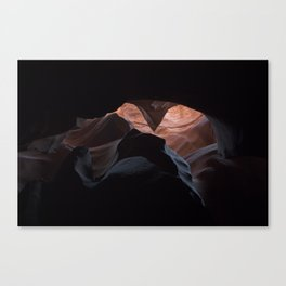 Upper Antelope Canyon-0466 Canvas Print