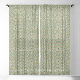 Panoply Pattern Sheer Curtain