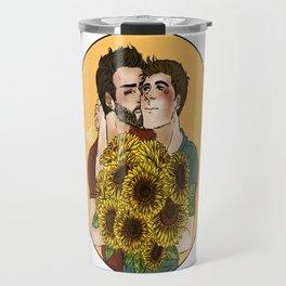 Sterek Sunflower Print Travel Mug