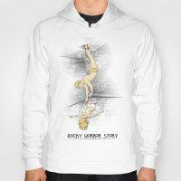 rocky horror Hoodies featuring Rocky Horror Story by DiHA
