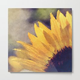 Another sunflower - Flower Flowers Summer Metal Print