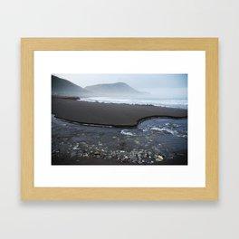 Tora solitude Framed Art Print