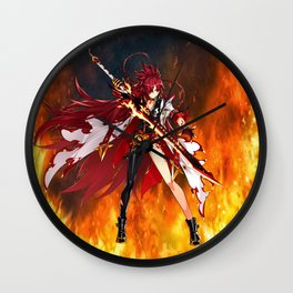 Flamelord Wall Clock