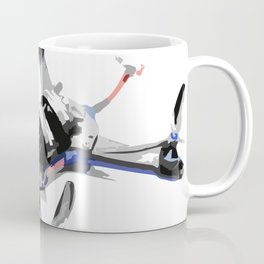Freestyle quad or fpv drone for race drone freestyle pilots Coffee Mug