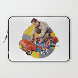 Mr Fixit   Collage Laptop Sleeve
