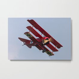 Fokker Dr1 - Red Baron  Triplane Metal Print