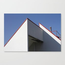 Roof Tops. Canvas Print