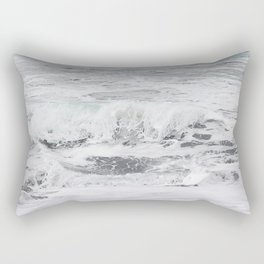 Minty bubble gum Rectangular Pillow
