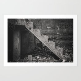 Second Floor No More Art Print