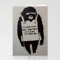 banksy Stationery Cards featuring Banksy  by Ashley Griswold Photography