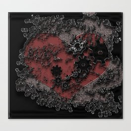 Love Is surreal. Canvas Print