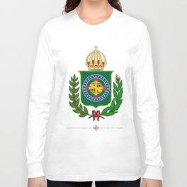 Brasão Imperial Brasileiro Long Sleeve T-shirt