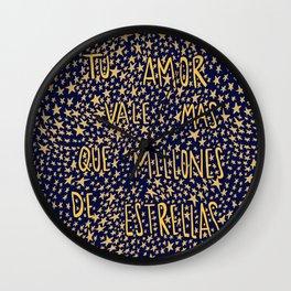 Estrellas Wall Clock