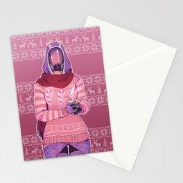 Tali'Zorah Vas Normandy Stationery Cards