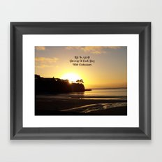 Nature Photo Gift Quote by Kat Worth Framed Art Print