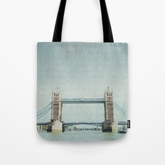 Letters From the Tower Bridge - London Tote Bag