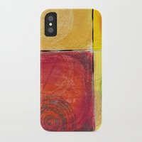 kandinsky iPhone & iPod Cases featuring Colourful pastel work kandinsky inspired by Easyposters