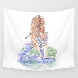 Tiger Oasis Wall Tapestry