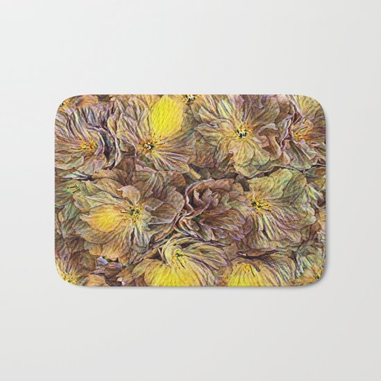 Flowers Galore - Painterly Bath Mat