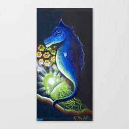 Worlds Beneath Canvas Print