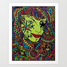 Gypsy Boom Art Print