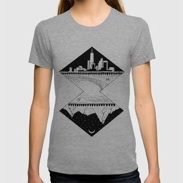 City by the Mountains T-shirt