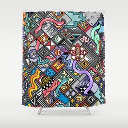 sempiternal Shower Curtain
