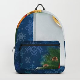 Christmas card Backpack