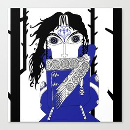 The Queen of Spades - Herman Canvas Print