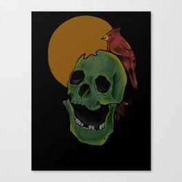 Broken Nights Canvas Print
