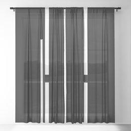 Ultra Minimal II- Sheer Curtain