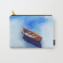 Boat Art Painting Carry-All Pouch