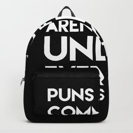 Puns about Communism Backpack