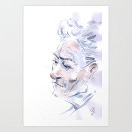 Portrait fantôme Art Print