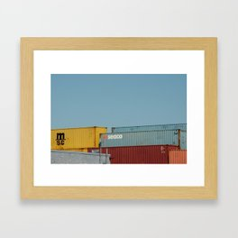 Pleasure Bay Framed Art Print