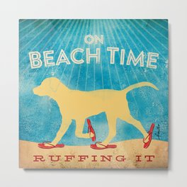 Beach Time Lab by Stephen Fowler Metal Print