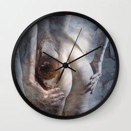 The looking eye Wall Clock