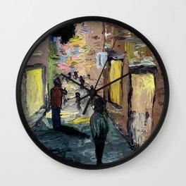 Knife City Wall Clock