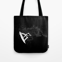 The Surfer Cosmic Tote Bag