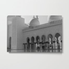 Sheikh Al Zayed mosque Abu Dhabi nº1 Metal Print
