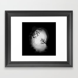 Dark paysage Framed Art Print