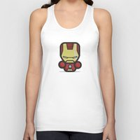 ironman Tank Tops featuring Ironman by MaNia Creations