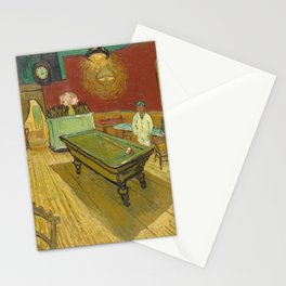 Van Gogh - The Night Cafe, 1888 Stationery Cards