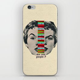 Are You People? iPhone Skin
