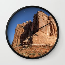 Courthouse Towers - Arches National Park Wall Clock