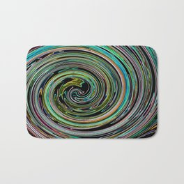 Hypnotic vortex Bath Mat