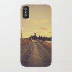 The Road Not Taken iPhone X Slim Case