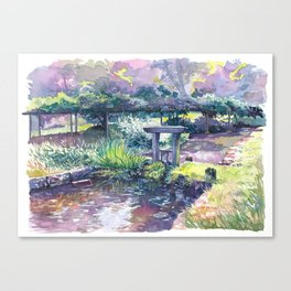Korakuen #02 Canvas Print